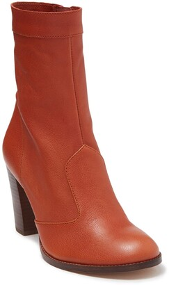 Marc Jacobs Sofia Leather Ankle Boot