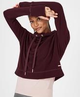 Sweaty Betty Escape Luxe Fleece Cropped Hoodie