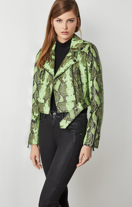 BCBGMAXAZRIA Melanie Leather Jacket
