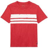 Polo Ralph Lauren Slub Jersey Stripe Tee (Toddler)