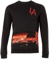La City Black Nights Printed Sweatshirt