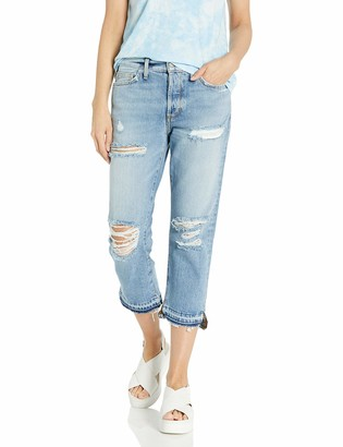 Siwy Women's Elle Crop Straight Jeans in Money for Nothing 29