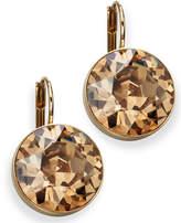 Swarovski Earrings, Bella Yellow Crystal Drops