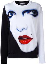 Jeremy Scott face print sweatshirt - women - Cotton - 38