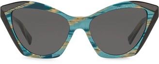 Cat Eye Ambrette cat-eye frame sunglasses