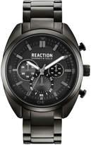 Kenneth Cole Reaction Men's Gunmetal Stainless Steel Bracelet Watch 45mm