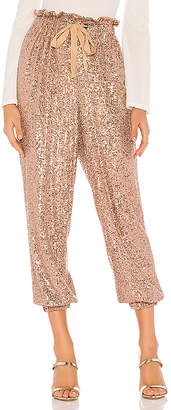 Free People Night Moves Sequin Harem Pants