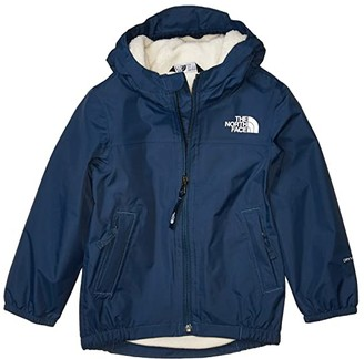 The North Face Kids Warm Storm Rain Jacket (Toddler) (Fiery Red) Kid's Clothing