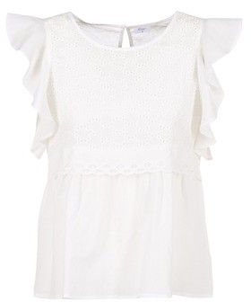 Betty London INNATOUNE women's Blouse in White