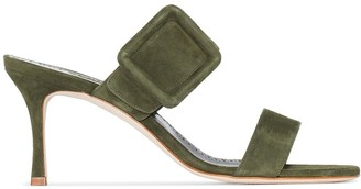 Manolo Blahnik Gable 70mm sandals