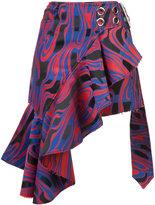 Marques Almeida Marques'almeida pleated asymmetric skirt