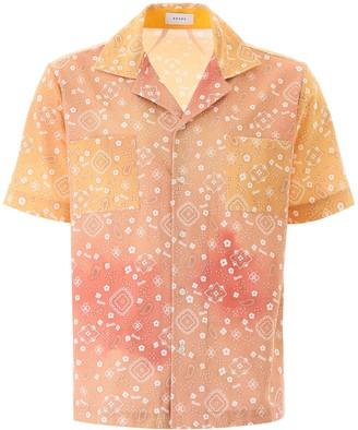 Rhude Bandana Print Shirt