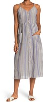 Thumbnail for your product : Angie Striped Chevron Midi Dress