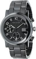 Gucci G-Chrono Ceramic Watch, Black