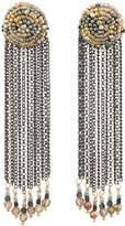 Nakamol Mixed Chain Fringe Dangle Earrings