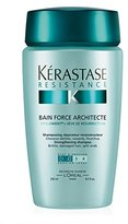Kérastase Resistance Bain Force Architecte Reconstructing Shampoo, 8.5 Ounce