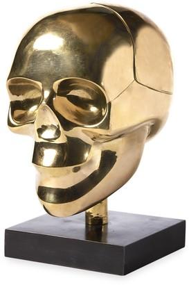 Jonathan Adler Brass Skull Box