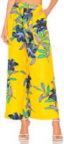 Diane von Furstenberg Wide Leg Cropped Pant