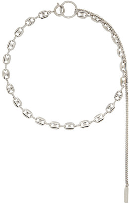Justine Clenquet Silver Jerry Necklace
