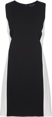 Alice + Olivia Colour Block Short Dress