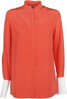 Victoria Beckham Mandarin Neck Shirt