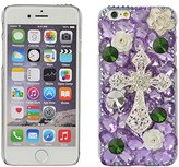 iPhone 6 Plus/6s Plus Case,Yaheeda 3D Fashion Bling PC Hard Case for iPhone 6 Plus/6s Plus [5.5inch]