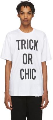 Moschino White Trick Or Chic T-Shirt