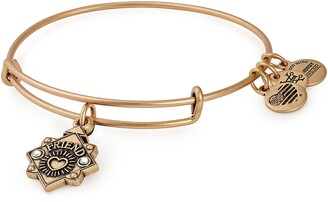 Alex and Ani Because I Love You Friend Expandable Wire Bracelet