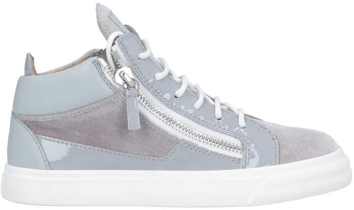acea3d812a09b Giuseppe Zanotti Gray Women's Sneakers - ShopStyle