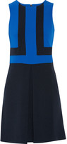 MICHAEL Michael Kors Pleated crepe mini dress