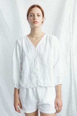 Deiji Studios - Soft Blouse Linen White - small