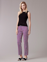 Diane von Furstenberg Narrow Tailored Pant
