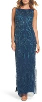 Adrianna Papell Women's Embellished Long Dress