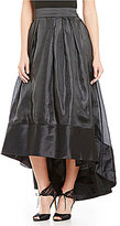 J.R. Nites Hi-Low Satin Ballgown Skirt