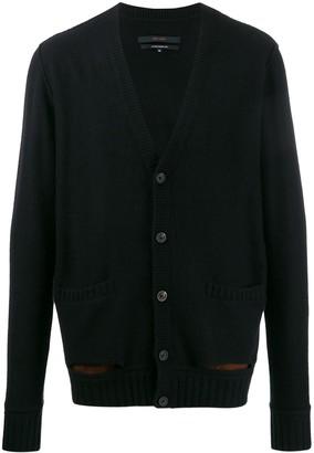 Ziggy Chen Cashmere Button Cardigan