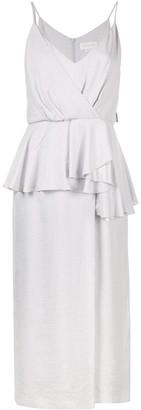 Karen Walker Draped Midi Dress