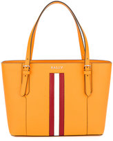 Bally striped trim tote bag - women - Leather - One Size