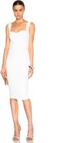 Victoria Beckham Matte Crepe Curve Dress