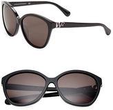 Diane von Furstenberg Harper 58mm Cats Eye Sunglasses