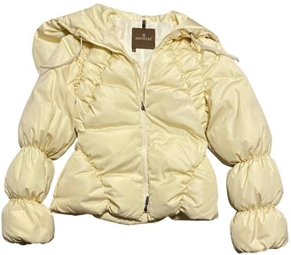Moncler Beige Synthetic Leather jackets