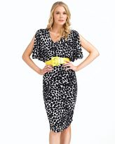 Donna morgan belted dress