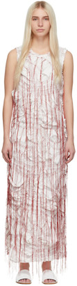 Marina Moscone White Sheath Dress