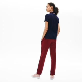 Lacoste Women's Slim Fit Cotton Petit Pique Polo