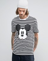 Asos Mickey Mouse Stripe T-Shirt