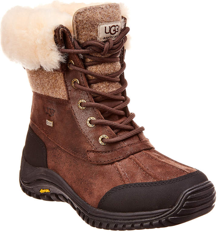 1fc3d8a1f4d Adirondack Ii Waterproof Suede & Leather Duck Boot
