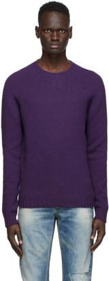 Palm Angels Purple Logo Sweater