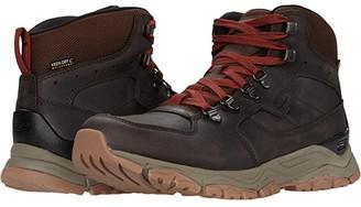 Keen Innate Leather Mid Waterproof (Chestnut/Fired Brick) Men's Shoes