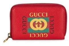 Gucci Leather Zip-Around Wallet