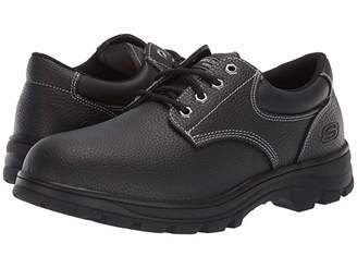 Skechers Workshire - Conwy (Black) Men's Shoes