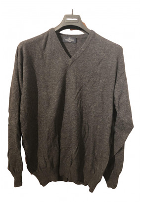 Valentino Grey Wool Knitwear & Sweatshirts
